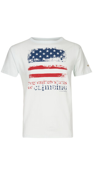 Nihil US of Climbing Tee Men Spa White